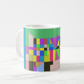 Color blitz coffee mug