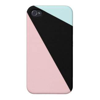 Color Block Art Deco iPhone 4/4S Case
