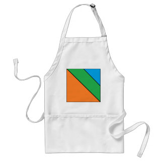 color blocking your summer standard apron