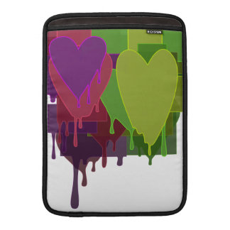 Color Blocks Melting Hearts MacBook Air Sleeves