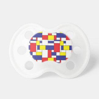 color blocks pacifier