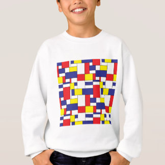 color blocks sweatshirt