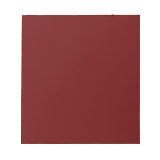 color blood red notepad
