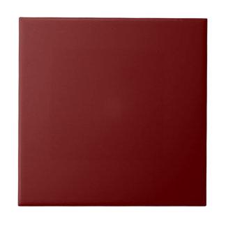 color blood red tile