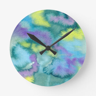 Color Bloomz Wall Clock
