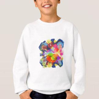 color blotch island sweatshirt