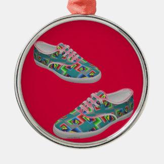 Color box shoes ornament