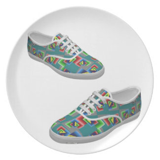 Color Box Shoes Plate