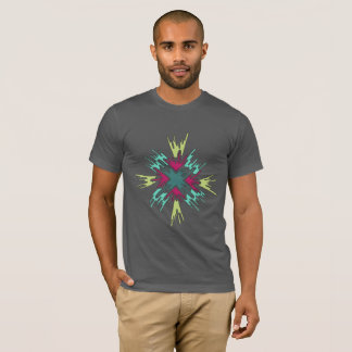 Color Burst Abstract T-Shirt