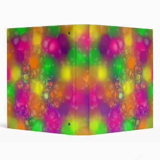 Color Burst Vinyl Binder