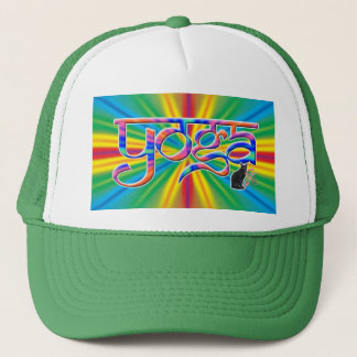 Color Burst Yoga Trucker Hat