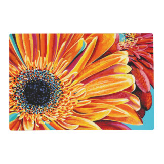 Color Bursts II Laminated Place Mat