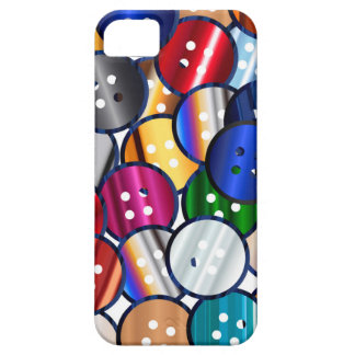 Color Button Collection Case For The iPhone 5