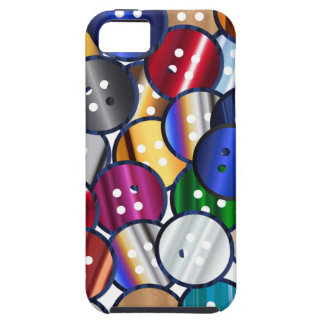 Color Button Collection iPhone 5 Cover