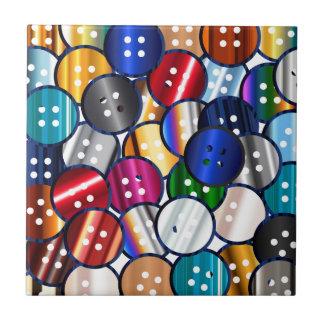 Color Button Collection Tile