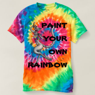 Color Cat - Make Your Own Rainbow T-shirt
