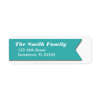 Color Changeable Ribbon Labels