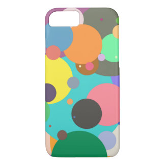color circles spots dots iPhone case