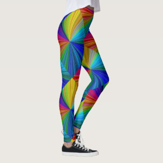 Color Circular Rainbow Array 1 Leggings