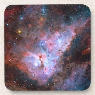 Color Composite Image of the Carina Nebula Drink Coaster