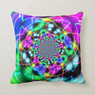 Color Corridor Reflection Pillow