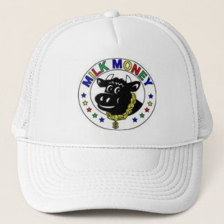 color cow trucker hat