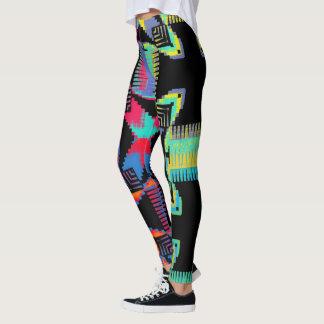 Color Crossing Leggings