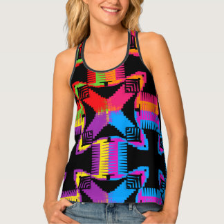 Color Crossing Tank Top