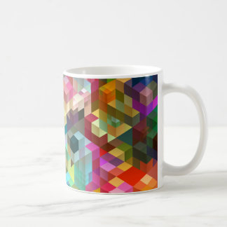 Color Cubes Geometry Coffee Mug