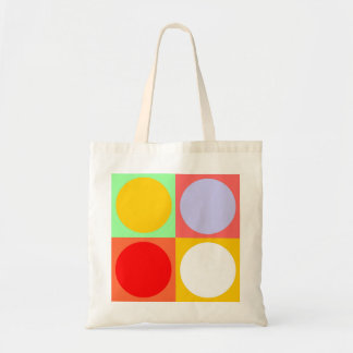 COLOR CUBES TOTE BAG