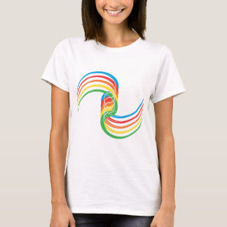 Color Curves: Vector Illustration: T-Shirt