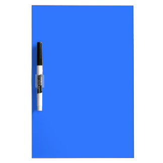 color deep electric blue dry erase board