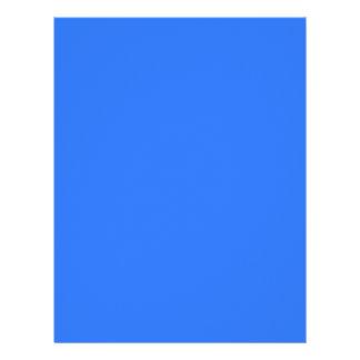 color deep electric blue letterhead