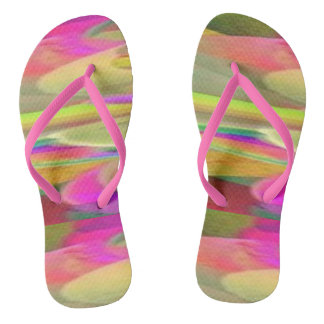 Color Desert Flip Flops