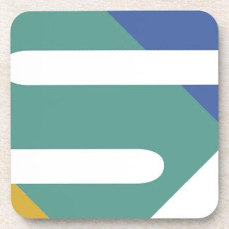 Color design coaster