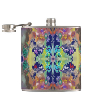 Color Design in the Abstract Hip Flask
