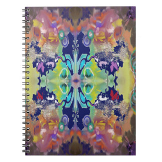 Color Design in the Abstract Spiral Notebook