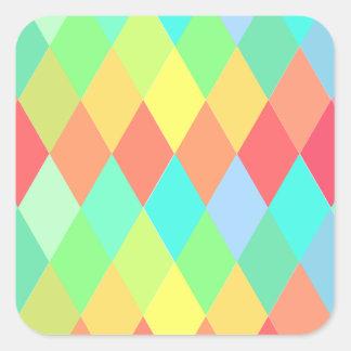 Color diamonds sticker