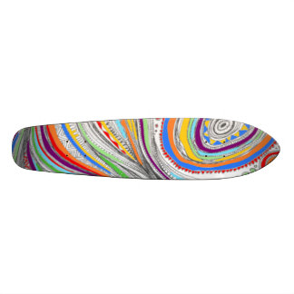 Color Doodle Skateboard