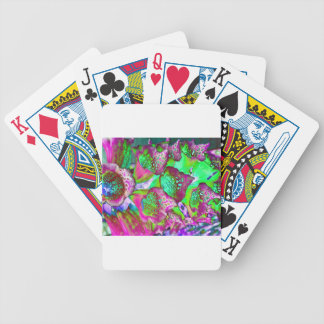 color dream bicycle playing cards