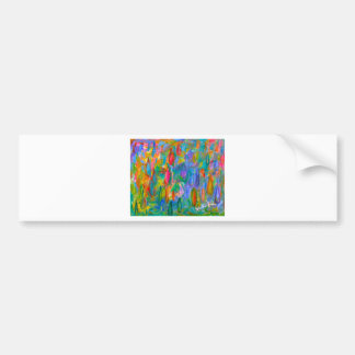 Color Drops Bumper Sticker