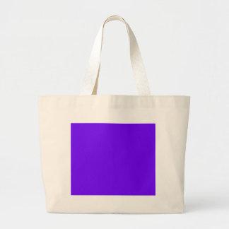 color electric indigo large tote bag
