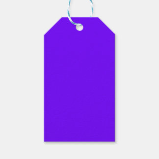 color electric indigo pack of gift tags