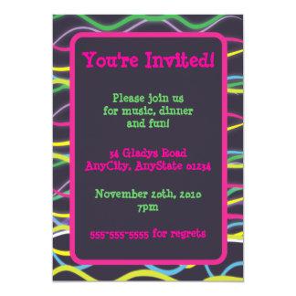 Color Electric Invitations