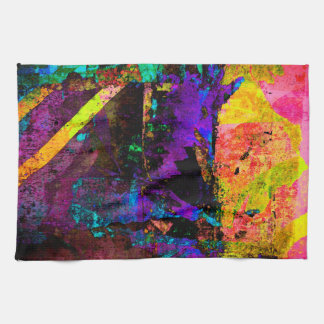 Color embankment kitchen towel