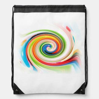 Color Experiment Drawstring Bag
