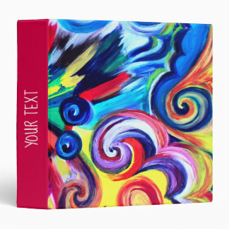 Color Explosion 3 Ring Binders