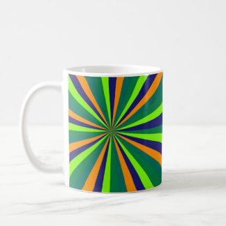 Color explosion coffee mug