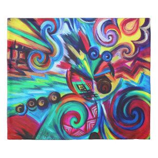 Color Explosion Duvet Cover