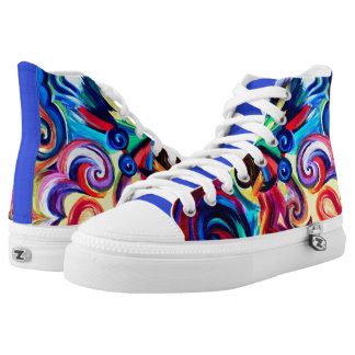 Color Explosion High Tops